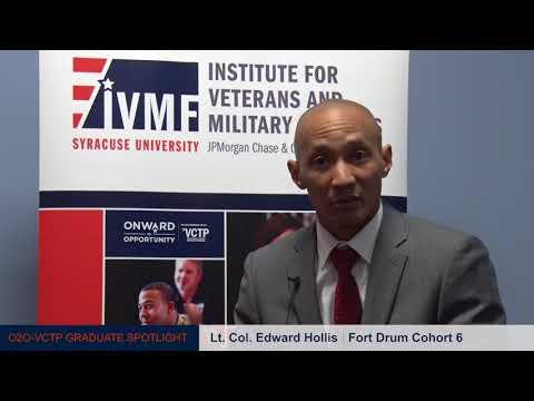 Fort Drum Graduate – LTC Edward Hollis - Institute for