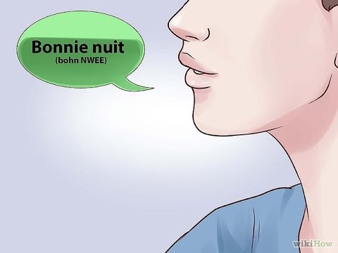 How to say goodnight in French!!!