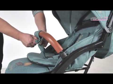 Chipolino Детска количка Орео лен Мента #ztlTe2EI0KM