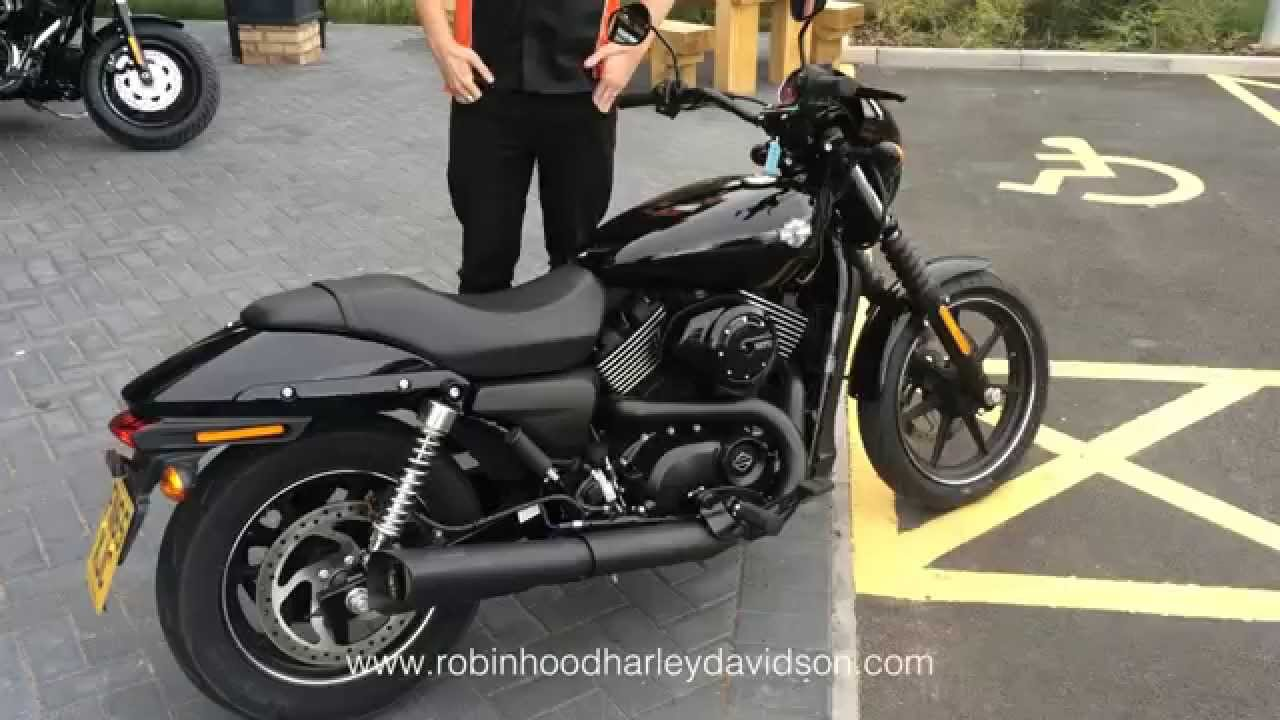 new harley davidson street 750 with vance hines exhaust