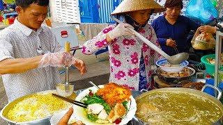 Tô bún mì vàng tôm thịt chỉ 25k cực ngon ( Chị Mười 7 ngày 7 món ) | street food saigon