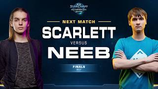 Scarlett vs Neeb ZvP - Grand Final - WCS Winter Americas