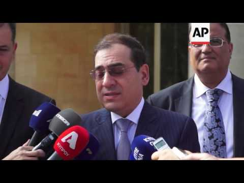 Egypt's oil and gas minister sign deal with Cyprus