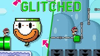 Awesome Glitch Level in Super Mario Maker 2 (by SilicatYT)