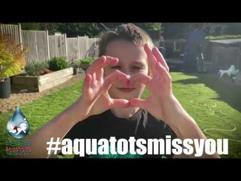 The Aquatots Lockdown Home Challenge | #AquatotsMissYou