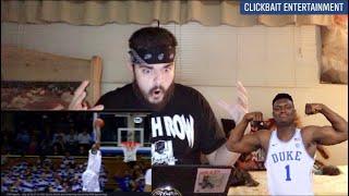 Zion Williamson vs EMU Full Highlights   21 PTS 9 REBS Crazy Dunks REACTION
