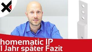 Homematic IP 1 Jahr später Fazit, Fenstergriff  und Rolladenaktoren | iDomiX