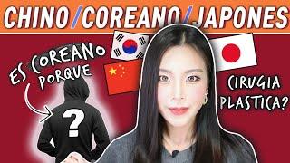 CÓMO DIFERENCIAR ASIATICOS? (Coreano, Japones, Chino)