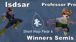 Isdsar vs Professor Pro - Short Hop Pear 6 - Singles - Winners Semis