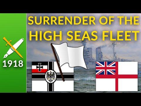 Britain's Triumph: The Surrender Of The German High Seas Fleet