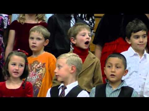 Bridgeport Nebraska Christmas Program 2012