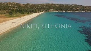 Halkidiki Best Beaches - Agios Ioannis Beach, Nikiti, Sithonia Greece(Agios Ioannis Beach is rated as one of Sithonia's top 10 beaches and one of the best beaches in Halkidiki., 2016-06-30T15:23:26.000Z)