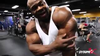 Kai Greene - How to Do a Dumbbell Tricep Extension