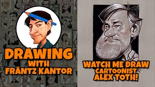 Watch me Draw Cartoonist Alex Toth!