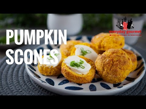 Pumpkin Scones | Everyday Gourmet S7 E7