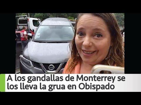 Arne aus den Ruthen | Los gandallas de Monterrey se los lleva la grua en Obispado