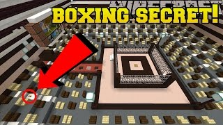 Minecraft: BOXING RING SECRET!!! - Hidden Buttons 8 - Custom Map [1]