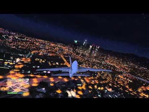 Flying FLYUS GTA5
