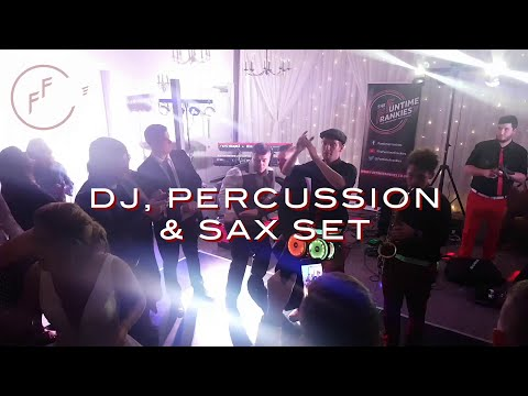 DJ, SAX & PERCUSSION Set from The Funtime Frankies