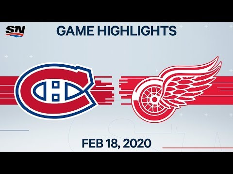 NHL Highlights | Canadiens vs Red Wings – Feb. 18, 2020