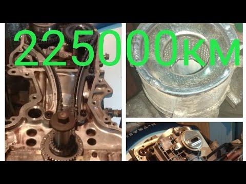 Чуть недокапитальный ремонт двигателя NISSAN X TRAIL