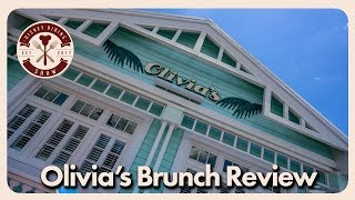 Olivia's Dining Review | Disney Dining Show | 09/16/19