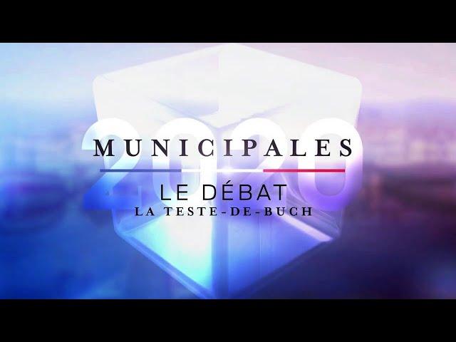 Débat | Second tour Municipales 2020 - La Teste-de-Buch
