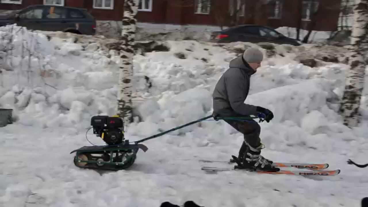 Буксировщике лыжника своими руками фото 351