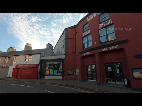 Holyhead Town Centre - Anglesey North Wales