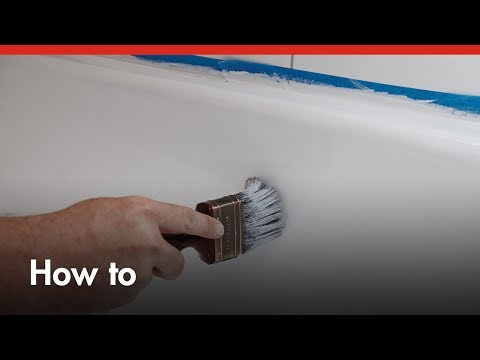 How To Paint A Bath Tub - DIY At Bunnings