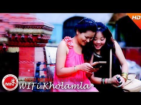 New Nepali Comedy Teej Song 2073 | WI Fi Kholamla - Tilak Oli & Tara Thapa | Gaam Besi Music