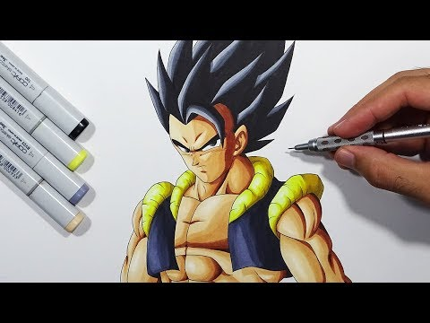 How To Draw Gogeta - Step By Step Tutorial! thumbnail