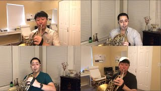 """Andante Cantabile"" for Four Horns"
