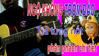 Tôn Ngộ Không Trộm Đào guitar [ chia sẻ chi tiết nhịp phách từng nốt ]