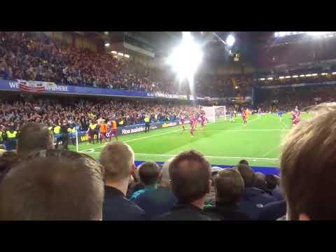 Manchester City Fans Going Mental To Kevin De Bruyne Winner Vs Chelsea Away