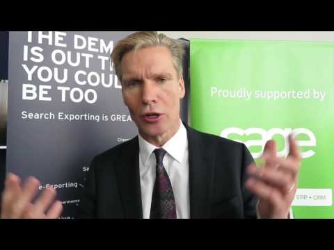 Exporting is GREAT - Stephen Kelly CEO of The Sage Group plc