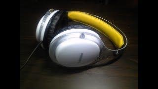 Philips SHL9560 headphones SPL dB sound test + quick review