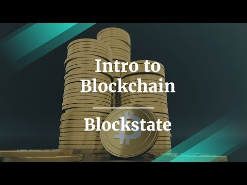 Intro to Blockchain and ICOs by Blockstate Co-Founder