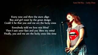 Lana Del Rey - Lucky Ones - LYRICS Thumbnail