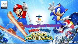 PicPlayPost Returns (Sparkleton based on Mario & Sonic at the Winter Olympics) (Very High Pitched)