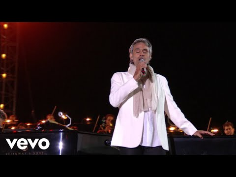 Andrea Bocelli - Italia - Live From Teatro Del Silenzio, Italy / 2007 ft. Chris Botti