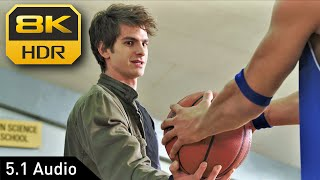 Peter and Flash in Basketball Court (The Amazing Spider-Man) • 8K HDR • 5.1 Audio