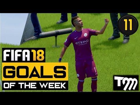 Fifa 18 - TOP 10 GOALS OF THE WEEK #11