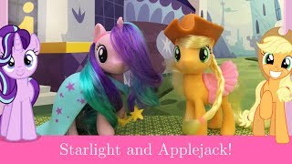 My Little Pony School of Friendship Applejack and Starlight Glimmer Review!