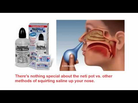 Neti Pot:  Safe and Effective?