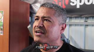 "Robert Garcia on Abel Sanchez saying Lomachenko schools Mikey ""It might be personal"" explains"