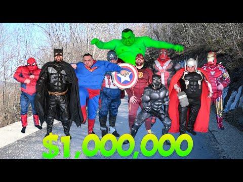 Superheroes Race For 1 000 000 $