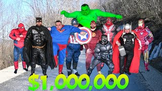 Superheroes Race For 1 000 000 $