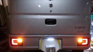 エブリイDA17V  LEDテールライト thumbnail