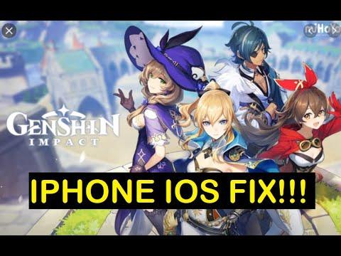 Genshin Impact Ios Iphone Crash Fix Youtube